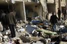 Intensos bombardeos caen en Alepo antes de conversaciones en Suiza