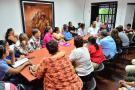Gobierno atendió a líderes de El Carmen y Brisas del Río