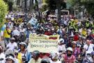 ¿Qué dijeron las redes sociales de la protesta de mototaxismo?