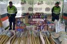 Policía ha incautado 530 kilos de pólvora en Santander