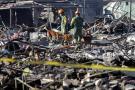 Investigan el origen de la explosión pirotécnica en México