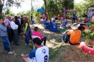 Instalaron otro parque  infantil ecológico