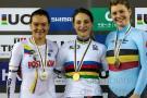 Santandereana Martha Bayona se colgó plata en mundial de ciclismo de pista