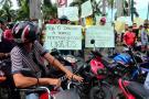 Transportadores informales protestaron en Bucaramanga