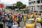 Rechazo en redes al paro de taxistas en Bucaramanga