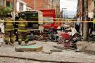 Explosión en Bogotá dejó un muerto y un herido