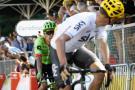Atento y sin dar ventajas en ningún momento, el colombiano Rigoberto Urán ya está a 29'' del liderato. Ayer en el remate de la etapa no se descuidó y llegó junto a Froome a la meta.