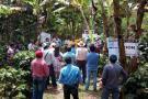 Día de campo en finca cafetera del Socorro
