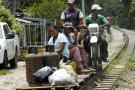 Culpan a una iguana de accidente en el llamado 'tren de los pobres' de Santander