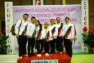 Santander brilló en el Nacional de Gimnasia