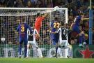 Messi lideró al Barcelona en la victoria ante la Juventus de Cuadrado