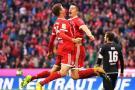 Sin James en la cancha, Bayern Múnich ganó 4- 0 al Mainz