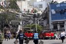 Derrumbes y pánico colectivo en México tras fuerte terremoto