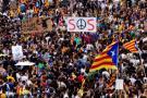 Cataluña está paralizada tras huelga por actuación policial durante referendo