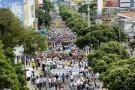Las marchas por el agua de los últimos años en Bucaramanga