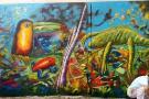Parque Gallineral se llenó de color y vida