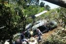 Helicóptero militar se estrelló en Copacabana, Antioquia