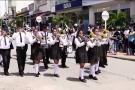 Banda de marchas del  Avelina Moreno se sobró