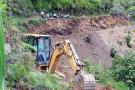Inició ampliación de cinco caminos veredales en Onzaga