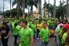 Culminó la marcha de empresarios de textiles y calzado en Bucaramanga
