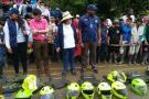 Liberan a 17 policías retenidos por indígenas en Risaralda