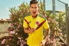 Rumbo a Rusia: Esta es la camiseta que Colombia usará en el Mundial 2018