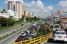 Dos choques colapsaron tráfico vehicular hacia Bucaramanga
