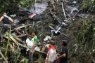 Grave accidente en vía de Antioquia deja 14 personas muertas