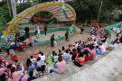 Jornada de alegría vivieron 60 niños de 'Hogar Gestor'