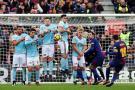 Barcelona empató con el Celta pero aguanta el liderato