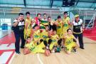 La selección Santander Sub 13 de baloncesto logró el título nacional