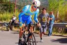El 'tico' Juan Carlos Rojas ganó la 'crono' y asumió al liderato