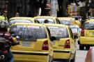 Muchos taxistas del área siguen trabajando sin seguridad social