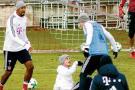 James protagoniza gresca en el entrenamiento del Bayern