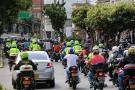 Motociclistas de Bucaramanga marcharon por alzas en el Soat