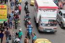 Solo se imponen seis multas diarias por transporte 'pirata' en Bucaramanga