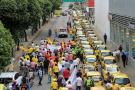 Confirman protesta de taxistas en Bucaramanga el próximo lunes