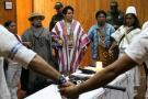 Indígenas escogieron a la 'Ciudad Dulce' para hacer su reunión anual