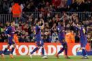 Barcelona goleó 6-1 al Girona y es líder solitario