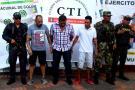 Autoridades capturan a los jefes del 'Combo del barrio La Paz'