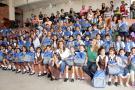 Estudiantes del Luis Carlos recibieron kits