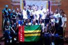El karate santandereano se destacó en el Campeonato Nacional Juvenil y Mayores