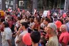 Argentinos marcharon en contra de proyecto de despenalización del aborto