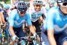 Egan Bernal pelea mano a mano con Valverde y Nairo