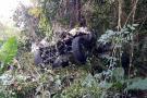 Mujer falleció al caer a un abismo en su vehículo en la Mesa de Los Santos