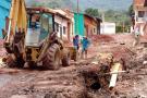 Avanzan las obras de pavimentación en la vía Contratación-Guacamayo