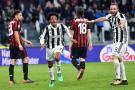 Cuadrado reapareció con gol ante Milán