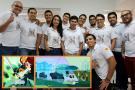Santandereanos reciben premio internacional por el desarrollo de un videojuego