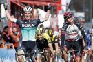 El australiano McCarthy ganó al sprint; Alaphilippe sigue de líder