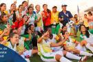 Histórico título de la selección Santander